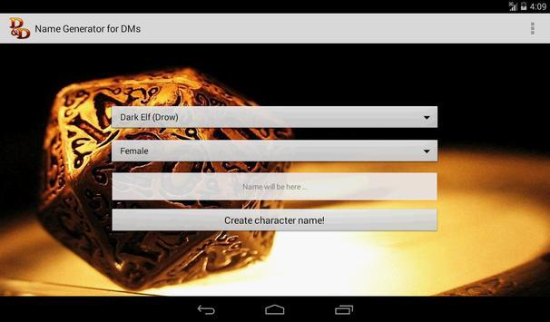 D&D Names Generator screenshot 12