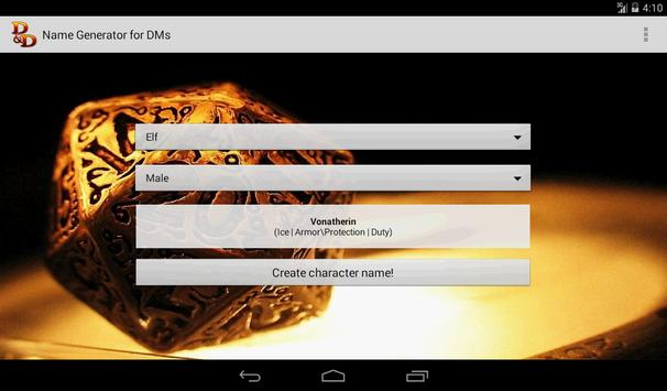 D&D Names Generator screenshot 14