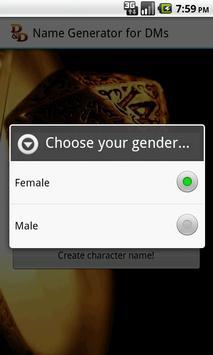 D&D Names Generator screenshot 2
