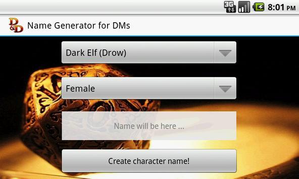 D&D Names Generator screenshot 5