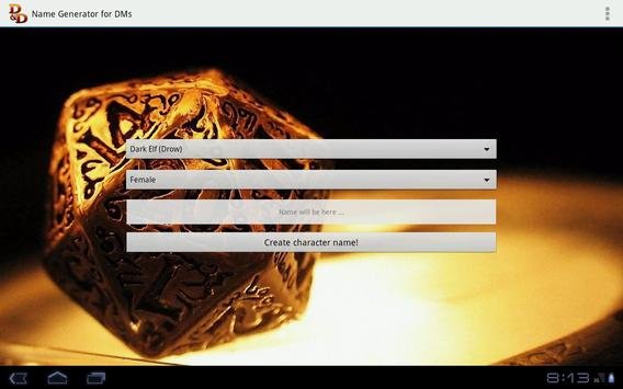 D&D Names Generator screenshot 8