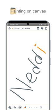 Neddi: pad, notes, lists, calendar, passwords تصوير الشاشة 4