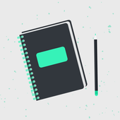 Diary, Journal, Notes - Universum-icoon