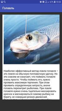 Голавль screenshot 2