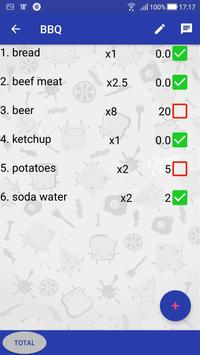 Party Shopping List screenshot 4