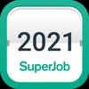Производственный календарь 2021 от Superjob иконка