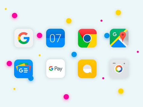 iOS 11 - Icon Pack cho Android - Tải về APK