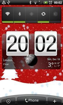 Winter live wallpaper red 2014 screenshot 1