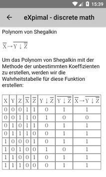 eXpimal - discrete math Screenshot 7