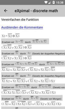 eXpimal - discrete math Screenshot 4