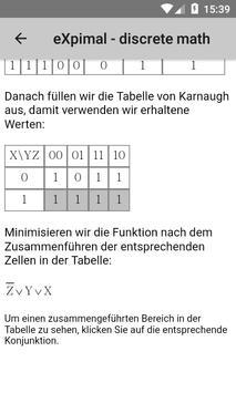 eXpimal - discrete math Screenshot 6
