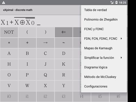 eXpimal - discrete math captura de pantalla 14