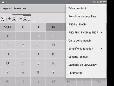 eXpimal - discrete math capture d'écran 14