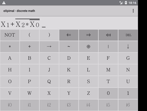 eXpimal - discrete math capture d'écran 8