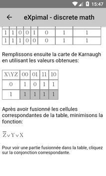 eXpimal - discrete math capture d'écran 6