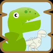 Dino Puzzle-icoon