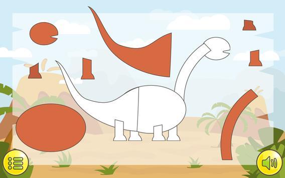 Dino Puzzle screenshot 1
