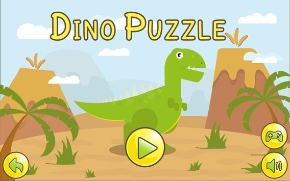 Dino  Çocuklar İçin Jigsaw Ekran Görüntüsü 19