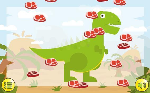 Dino  Çocuklar İçin Jigsaw Ekran Görüntüsü 2