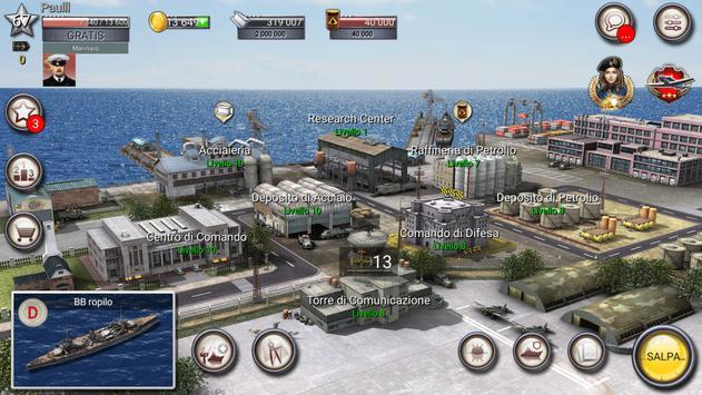 5 Schermata nave da guerra