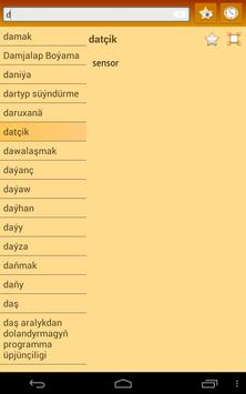 English Turkmen Dictionary screenshot 11