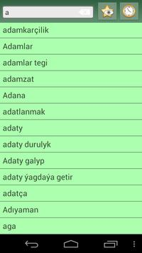 English Turkmen Dictionary screenshot 4