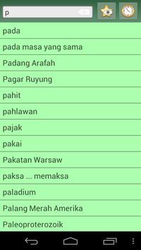 English Standard Malay Dict screenshot 4