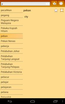 English Standard Malay Dict screenshot 16