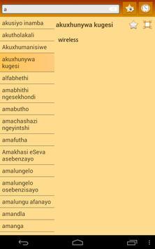 English Zulu dictionary screenshot 12