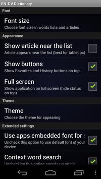 English Divehi Dictionary screenshot 3