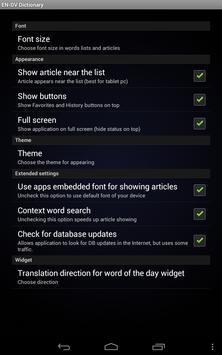 English Divehi Dictionary screenshot 9