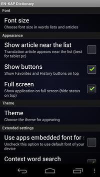 English Bezhta Dictionary screenshot 3