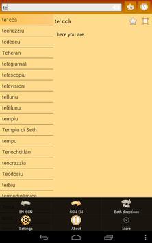 English Sicilian Dictionary screenshot 8