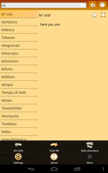 English Sicilian Dictionary screenshot 13