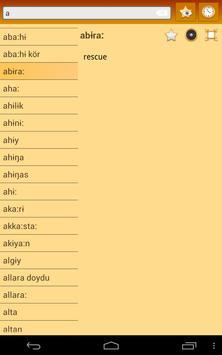 English Sakha Dictionary screenshot 7
