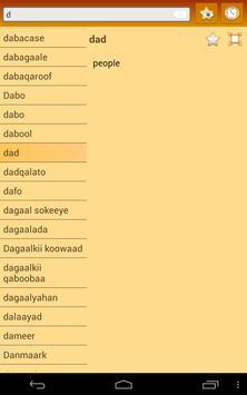 English Somali dictionary screenshot 11