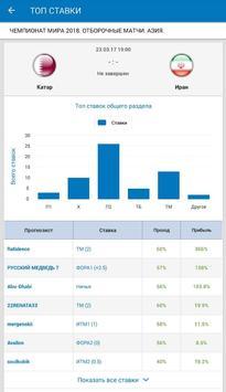 ВПРОГНОЗE - прогнозы и ставки на спорт screenshot 13