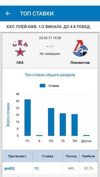 ВПРОГНОЗE - прогнозы и ставки на спорт screenshot 2