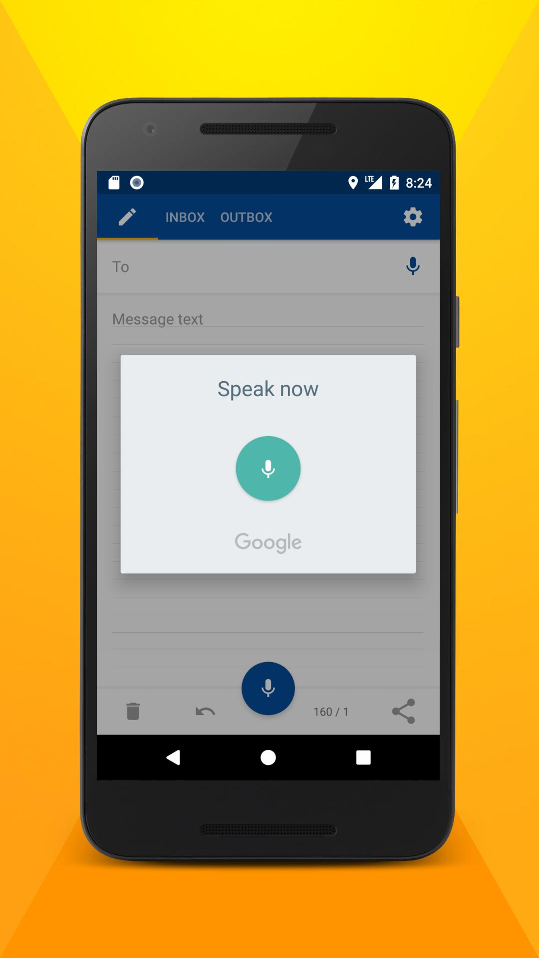 Write SMS by voice for Android - APK Download