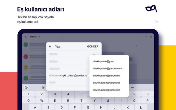 Yandex.Mail Ekran Görüntüsü 20