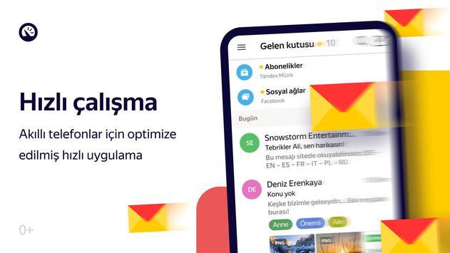 Yandex.Mail Ekran Görüntüsü 2