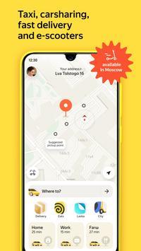 Yandex Go gönderen