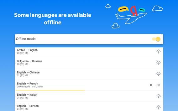 Yandex.Translate – offline translator & dictionary screenshot 10