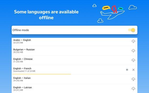 Yandex.Translate – offline translator & dictionary screenshot 18