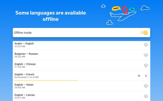 Yandex.Translate – offline translator & dictionary 截圖 18
