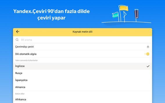 Yandex.Çeviri: çeviri ve çevrimdışı sözlük Ekran Görüntüsü 16