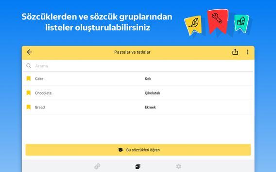 Yandex.Çeviri: çeviri ve çevrimdışı sözlük Ekran Görüntüsü 20