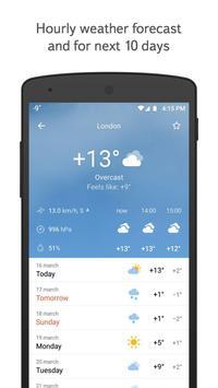 Yandex.Weather Cartaz