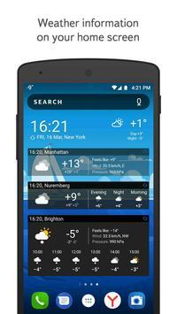 Yandex.Weather imagem de tela 4