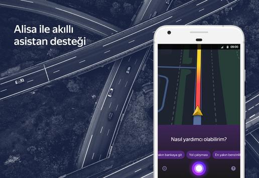 Yandex Navigasyon - Trafik, GPS ve Haritalar Ekran Görüntüsü 1